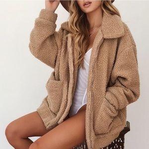 I.AM.GIA Pixie Teddy Coat size XS